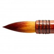 Silver Brush : Atelier Golden Taklon Quill : Series 5225S : Round : Size 220
