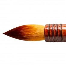 Silver Brush : Atelier Golden Taklon Quill : Series 5225S : Round : Size 240