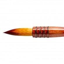 Silver Brush : Atelier Golden Taklon Quill : Series 5225S : Round : Size 80