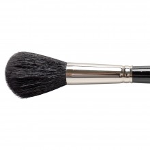 Silver Brush : Black Round Mop : Series 5618S : Size 16