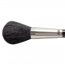 Silver Brush : Black Round Mop : Series 5618S : Size 20