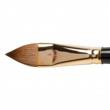 Silver Brush : Renaissance Red Sable Oil Brush : Long Handle : Cats Tongue : Size 18