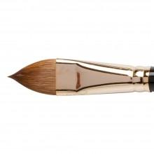 Silver Brush : Renaissance Red Sable Oil Brush : Long Handle : Cats Tongue : Size 20