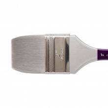 Silver Brush : Silver Silk 88 : Synthetic Brush : Series 8814S : Wide Wash : Size 2 in