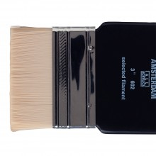 Royal Talens : Amsterdam : Synthetic Hair : Paddle Brush : Series 602 : 3in