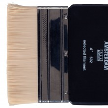 Royal Talens : Amsterdam : Synthetic Hair : Paddle Brush : Series 602 : 4in