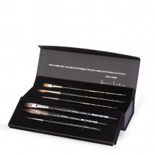 Da Vinci : Cesc Farre : Watercolour Brush : Set of 6