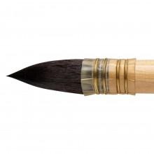 Da Vinci : Watercolour : Russian Squirrel Hair Quill Brush : Series 418 : Size 12
