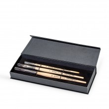 Da Vinci : Petit Gris : Squirrel Mix Brush : Gift Set of 3