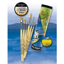 Da Vinci : Junior Gift box : Childrens Brush Set : Series 303 #1,4,8 304 #4,6,10
