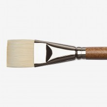 Winsor & Newton : Artists' Oil : Synthetic Hog Brush : Bright : Size 16