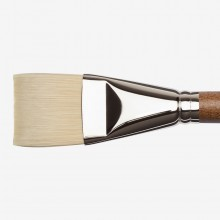 Winsor & Newton : Artists' Oil : Synthetic Hog Brush : Bright : Size 20