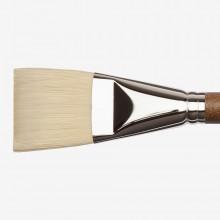 Winsor & Newton : Artists' Oil : Synthetic Hog Brush : Flat : Size 20