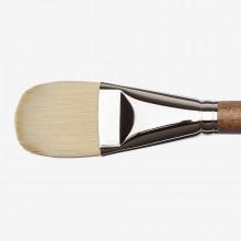 Winsor & Newton : Artists' Oil : Synthetic Hog Brush : Filbert : Size 20