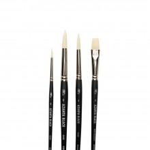 Winsor & Newton : Azanta Black Brush : Set of 4