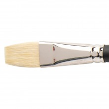 Winsor & Newton : Azanta Black Brush : Short Flat : No 10