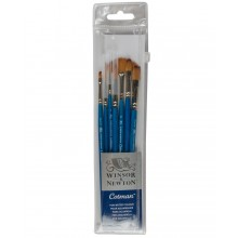 Winsor & Newton : Cotman Watercolour Brush : Set of 7