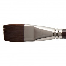 W&N : Galeria Brush : Long Handled : Short Flat : No 28