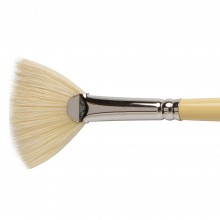 Winsor & Newton : Artist Hog Brush : Fan : No 6