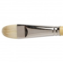 Winsor & Newton : Artist Hog Brush : Short Filbert : No 12