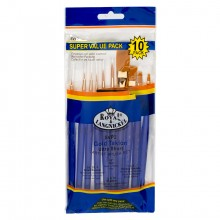 Royal & Langnickel : Golden Taklon Short Value Brush Pack