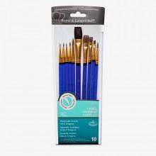 Royal & Langnickel : Camel Value Brush Pack
