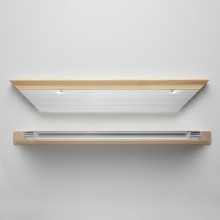 Jackson's : Alu Pro : Museum : 25mm : 50cm : Aluminium Stretcher bar Pair : Slim Profile