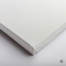 Belle Arti : Stretched Canvas : Fine / Poly Cotton (64/569) : 18x24cm : Box of 6