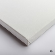 Belle Arti : Stretched Canvas : Fine / Poly Cotton (64/569) : 40x40cm : Box of 6