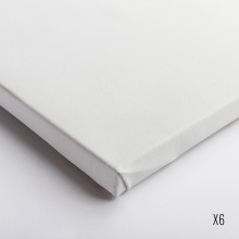 Belle Arti : Linen 62/574 : Universal Primed Fine Grain : 30x40cm : Box of 6