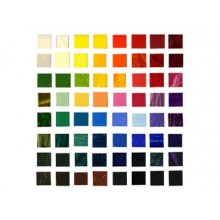 R & F : HAND painted colour chart - Pigment sticks