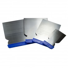 RTF Granville : Continental Filling Knives : Set of 4 in Plastic Wallet : 50, 80, 100 and 120mm