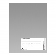 Jacksons : Aluminium Panel : 6x8 Inch (15x20cm) : ready prepared for all media
