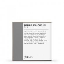 Jackson's : Uncradled Gesso Panel : 3mm : 4x4in : Grey
