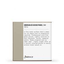 Jackson's : Uncradled Gesso Panel : 3mm : 4x4in : Umber