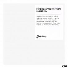 Jackson's : Box of 10 : Premium Cotton Canvas : 10oz 19mm Profile 15x15cm (Apx.6x6in)