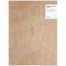 Jackson's : 5mm Wooden Painting Panel : 12x16in : Pack of 5