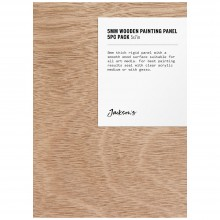 Jackson's : 5mm Wooden Painting Panel : 5x7in : Pack of 5