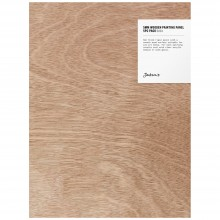 Jackson's : 5mm Wooden Painting Panel : 9x12in : Pack of 5