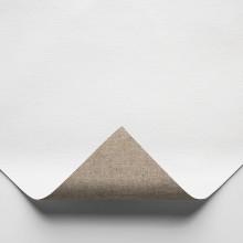 Belle Arti : CL575 Ultra Fine (No Grain) Poly/Cotton : 330gsm : Universal Primed : 10x15cm : Sample : 1 Per Order