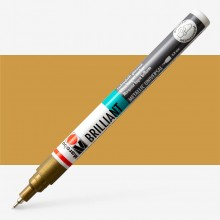 MARABU : BRILLIANT PAINTER : 0.8MM : GOLD