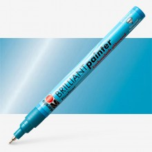 Marabu : Brilliant Painter : 0.8mm : Met Blue