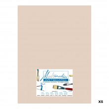 Multimedia Artboard : Pastel Artist Panel : 0.8 mm : 320 Grit : 5 Pack : 12x16in : Sandstone
