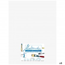 Multimedia Artboard : Pastel Artist Panel : 0.8 mm : 320 Grit : 5 Pack : 12x16in : White