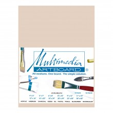 Multimedia Artboard : Pastel Artist Panel : Sample : 0.8 mm : 320 Grit : 6x8in : Sandstone