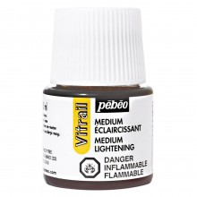 Pebeo : Vitrail Lightening Medium : 45ml : Bottle : Ship By Road Only