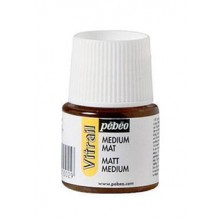 Pebeo : Vitrail Matt Medium : 45ml