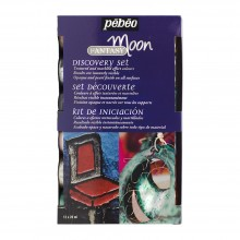 Pebeo : Fantasy Moon : Discovery Set : 12x20ml : Ship By Road Only