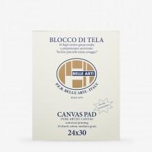 Belle Arti : 24x30cm Belle Arti Canvas Pad
