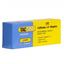 Tacwise : 13 Series Staples : 6mm : Box of 5000
